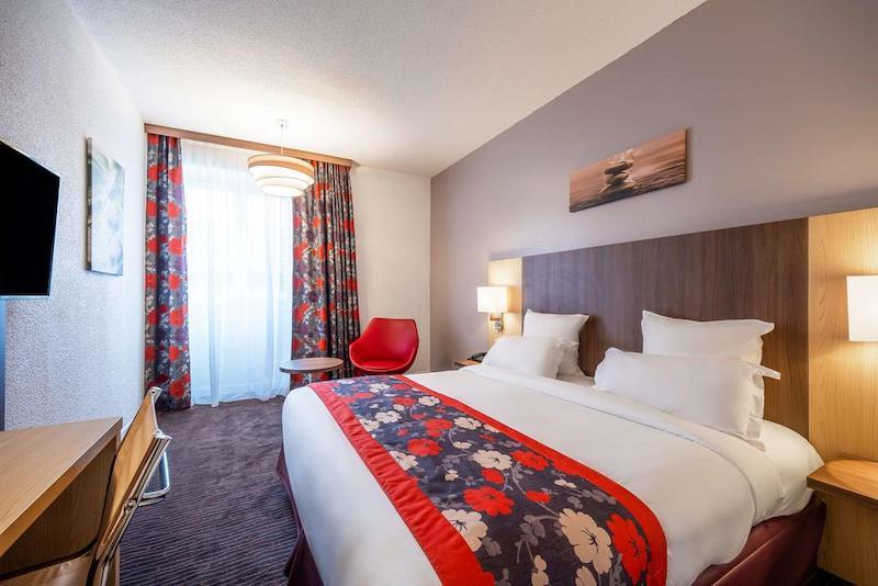 Quarto do Quality Hotel Bordeaux Centre