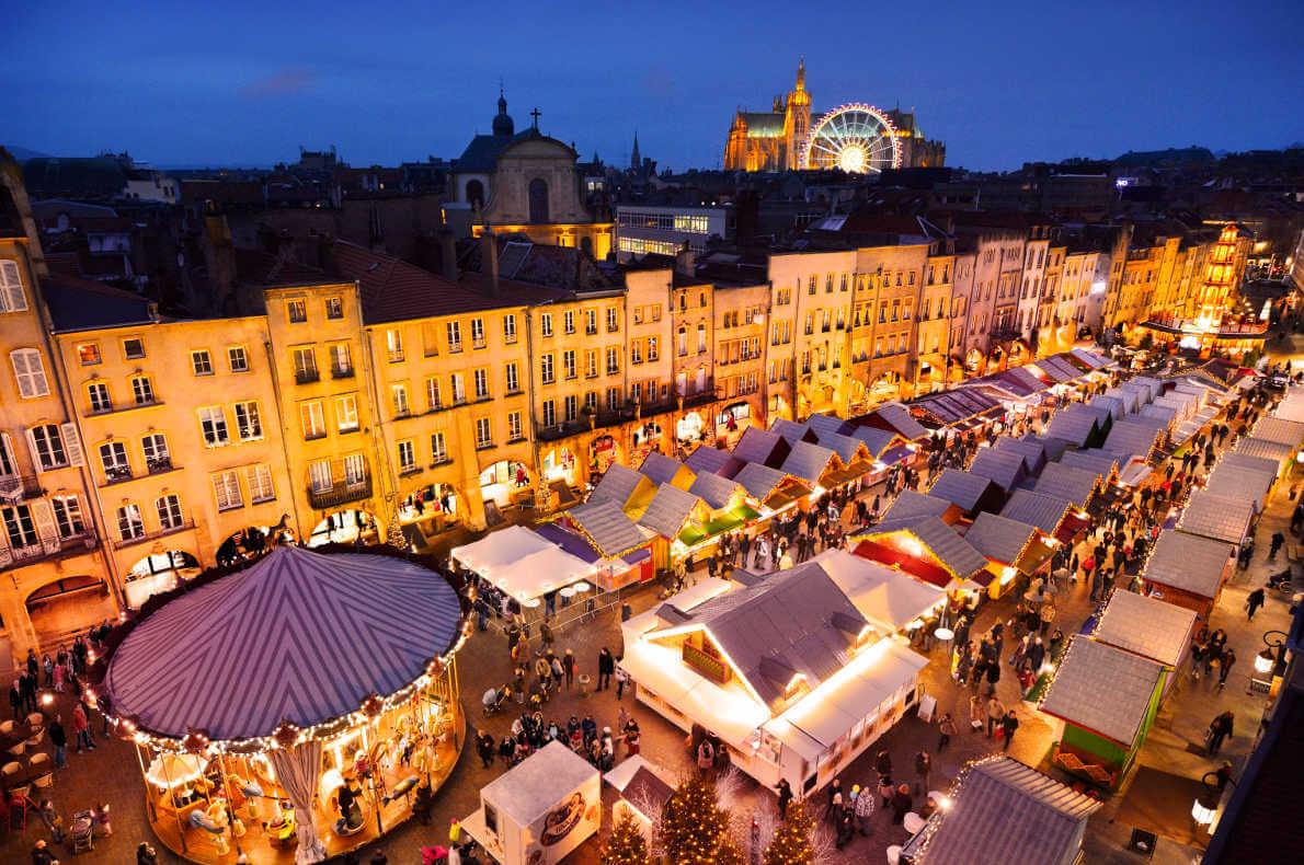 Mercado de Natal de Reims