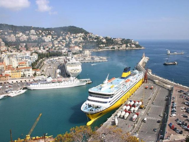 Porto em Nice na França