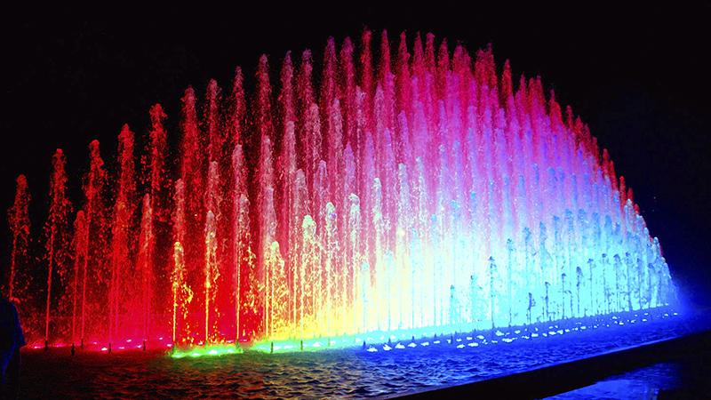 Show do Circuito Mágico das Águas em Lima