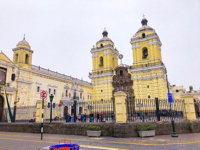 Convento de São Francisco em Lima