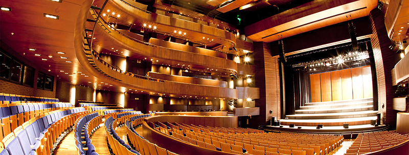 Interior do Gran Teatro Nacional em Lima
