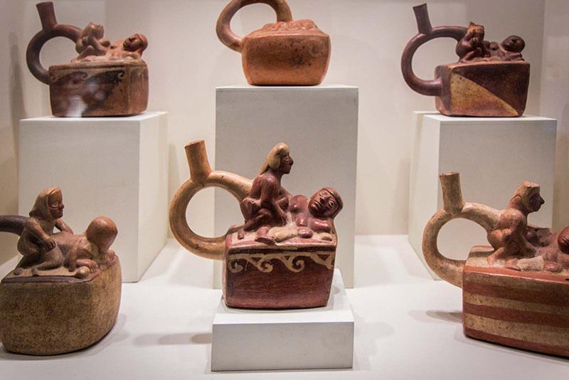 Sala Erótica do Museu Larco em Lima