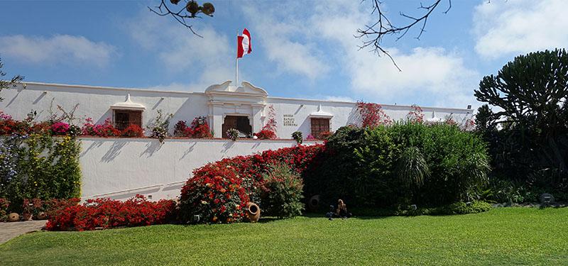 Jardim do Museu Larco em Lima