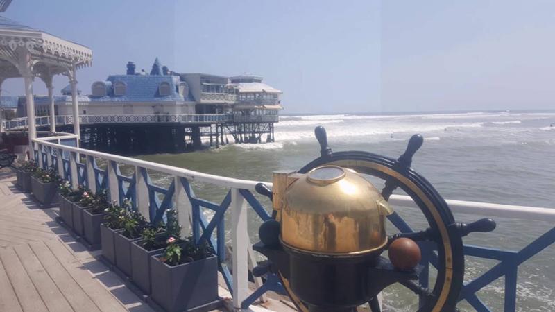 Entrada do Restaurante La Rosa Nautica em Lima