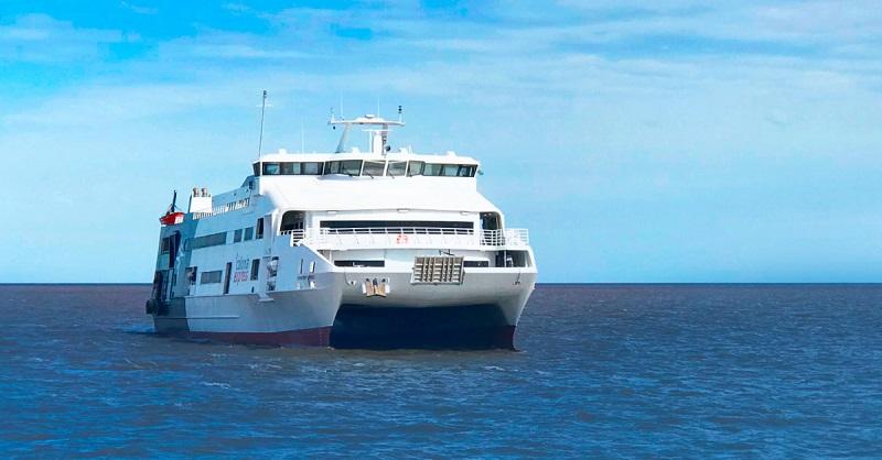 Ferry boat no Uruguai