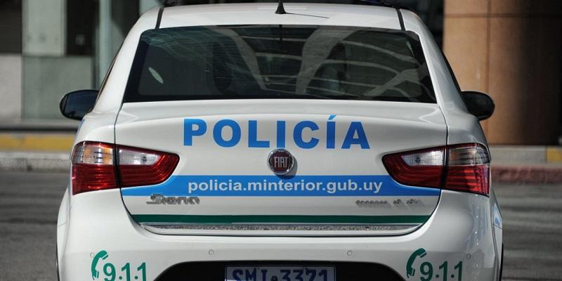 Polícia em Montevidéu - Uruguai