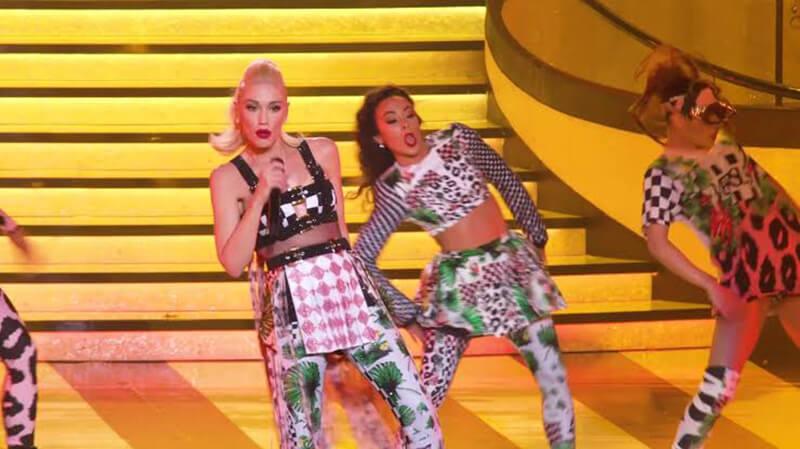 Show Just A Girl da Gwen Stefani em Las Vegas