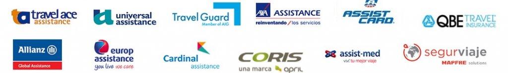 Aseguradoras de viaje y asistencia al viajeiro