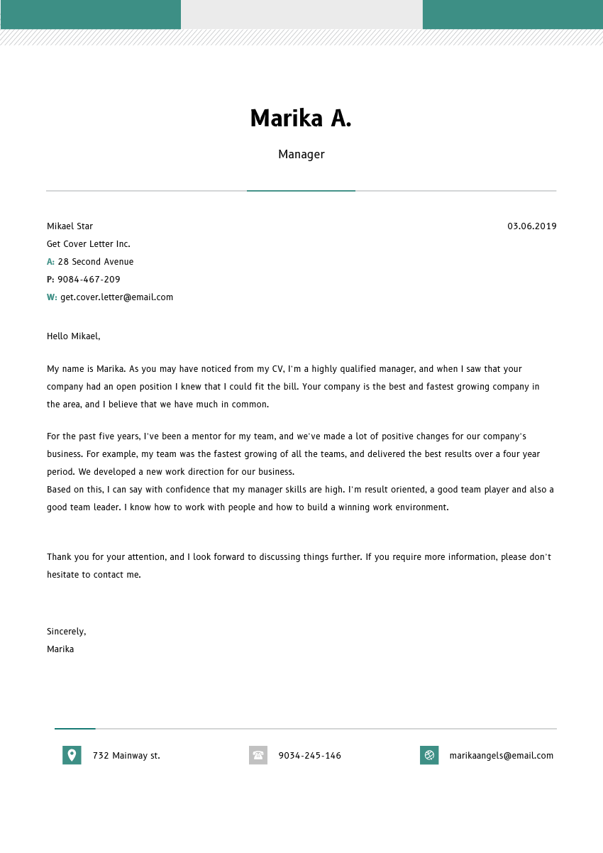 School Nurse Cover Letter Sample & Template 2020 ...
