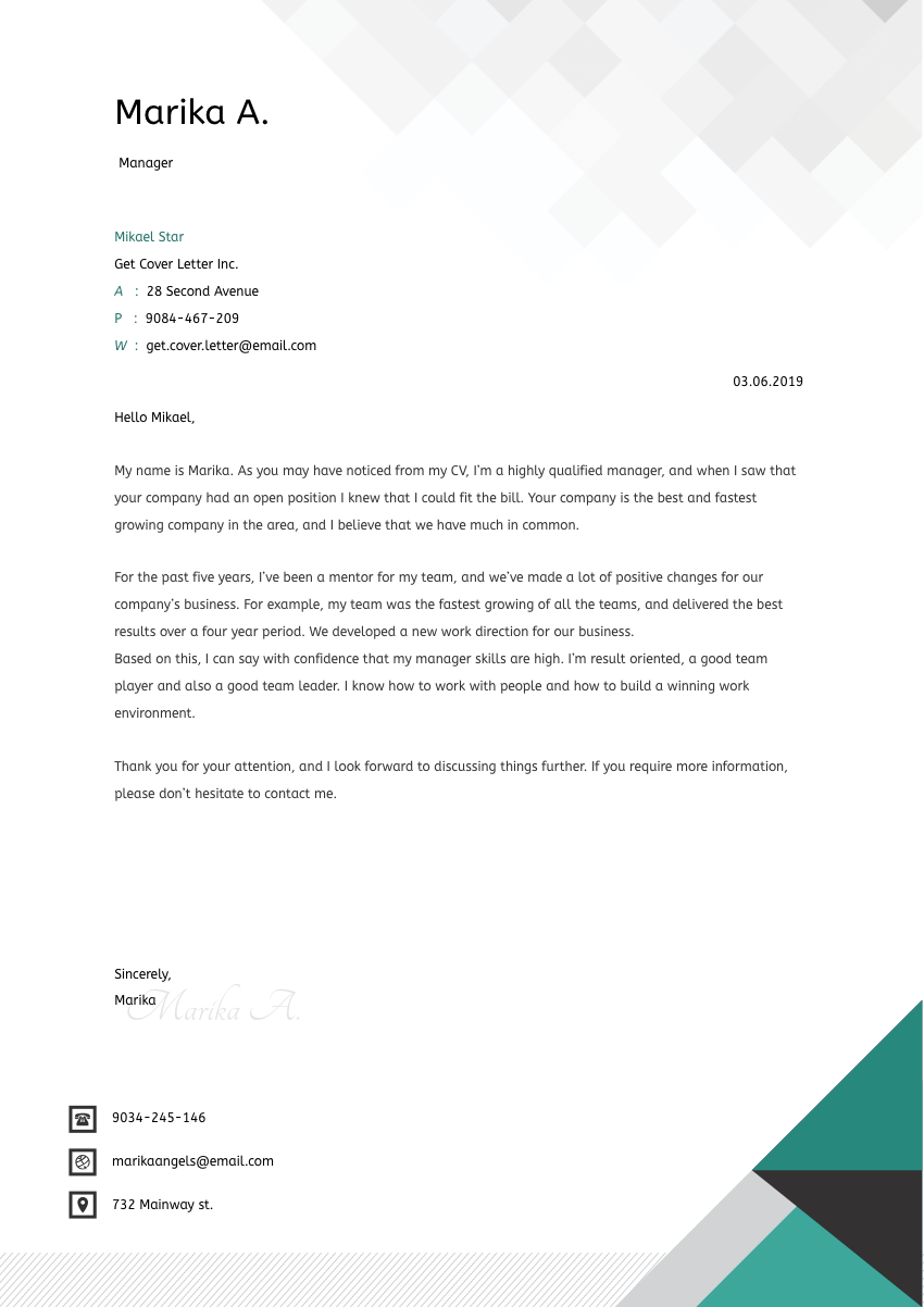 Content Strategist Cover Letter Sample & Template 2020 ...