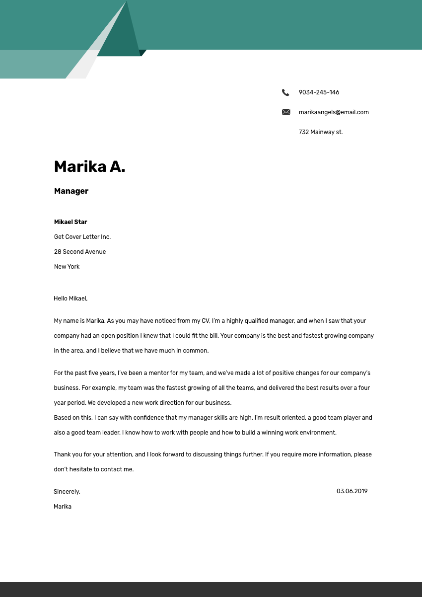 Production Operator Cover Letter Sample & Template 2020 ...