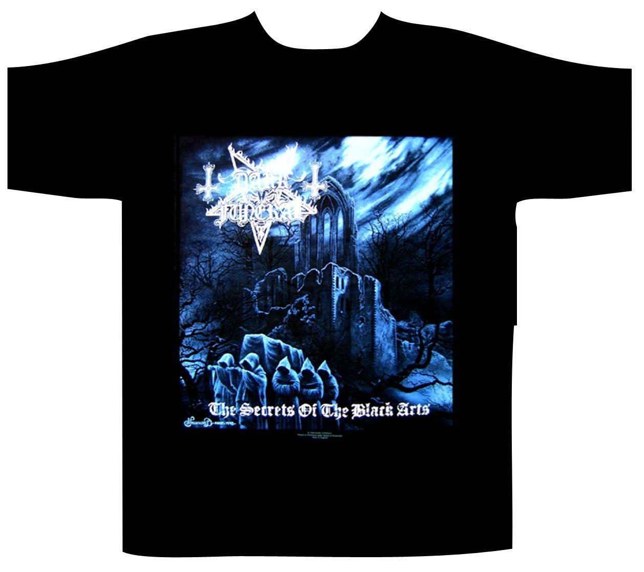 Dark Funeral Shortsleeve T-Shirt Secrets of the Black Arts