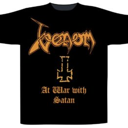 Venom Shortsleeve T-Shirt At War With Satan