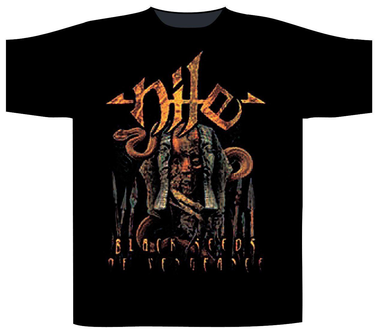 Nile Shortsleeve T-Shirt Black Seeds