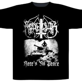 Marduk Shortsleeve T-Shirt Here's No Peace