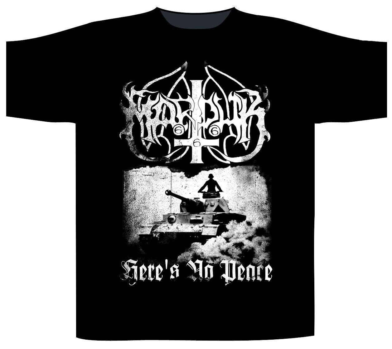 Marduk Shortsleeve T-Shirt Here's No Peace