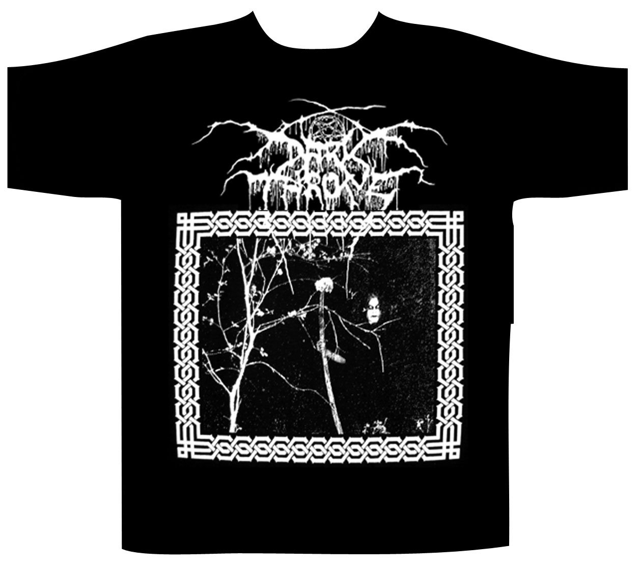 Dark Throne Shortsleeve T-Shirt Taakerferd/Under A Funeral Moon