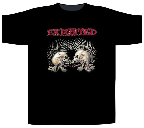 The Exploited Shortsleeve T-Shirt Fuck The System