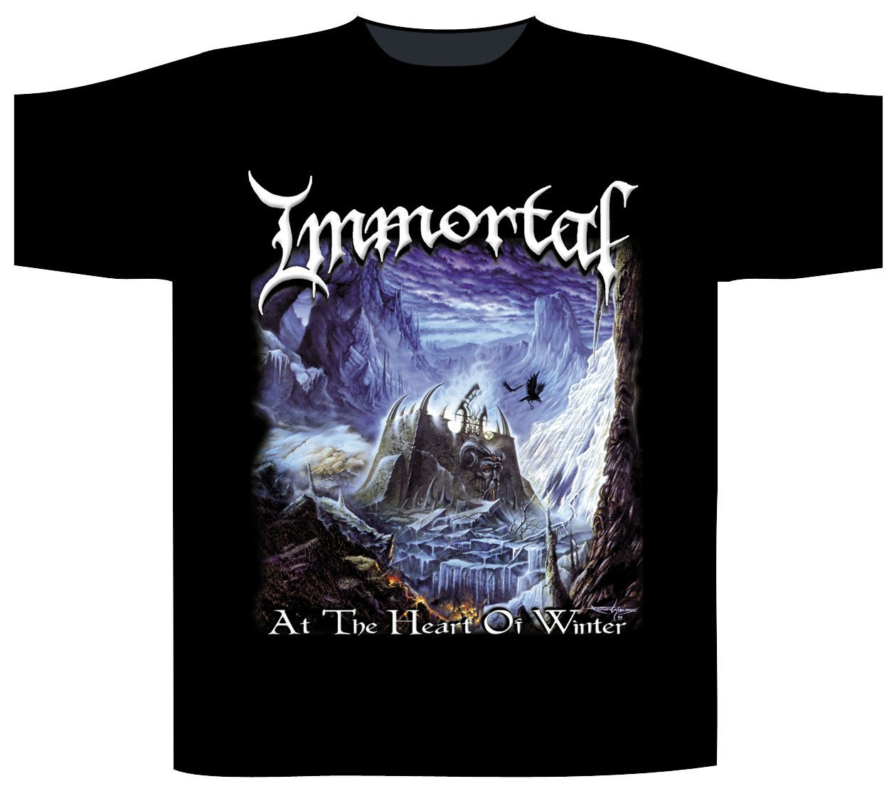 Immortal Shortsleeve T-Shirt At The Heart Of Winter