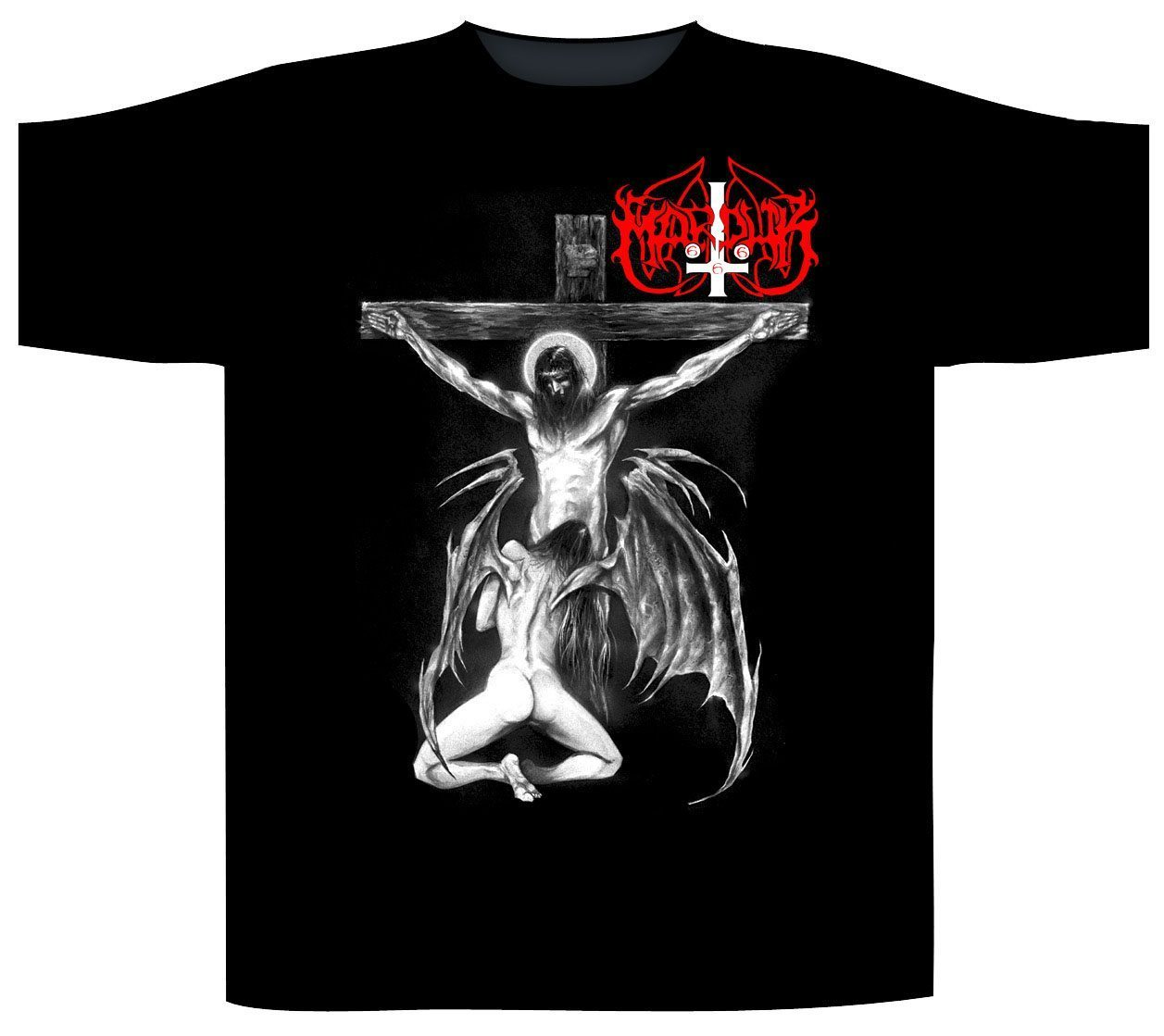 Marduk Shortsleeve T-Shirt Christ Raping Black Metal