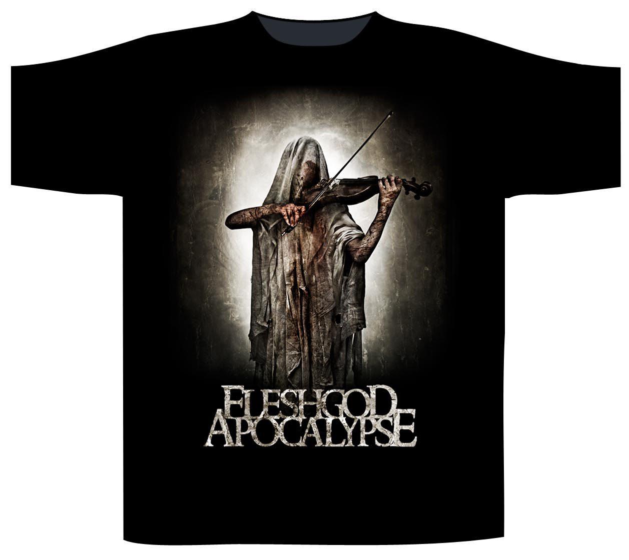 Fleshgod Apocalypse Shortsleeve T-Shirt Bloody Violinist