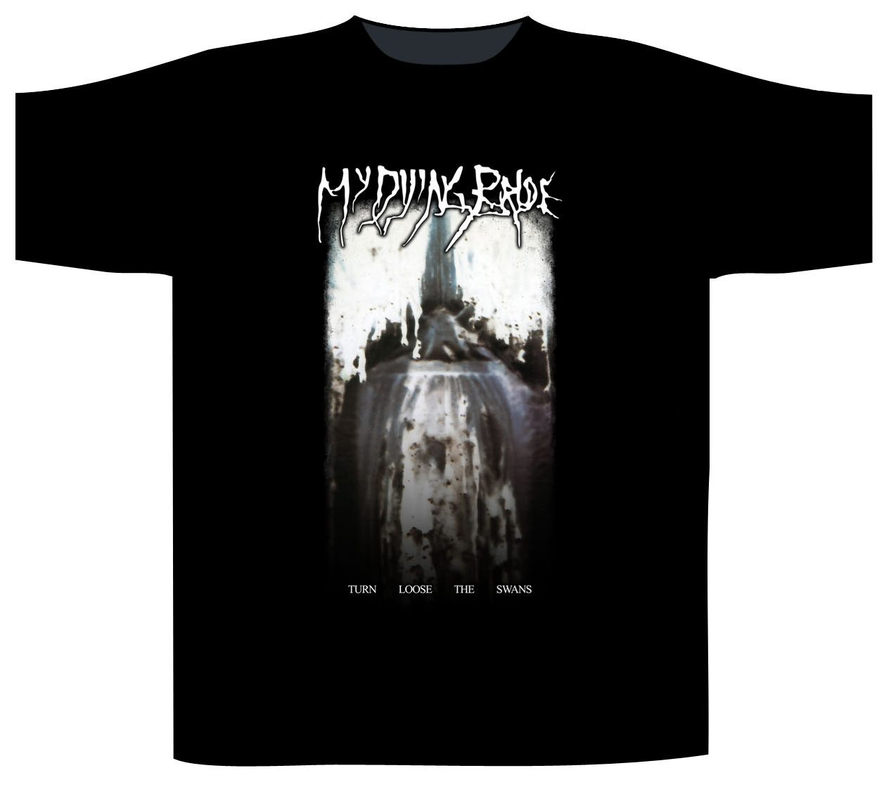 My Dying Bride Shortsleeve T-Shirt Turn Loose The Swans
