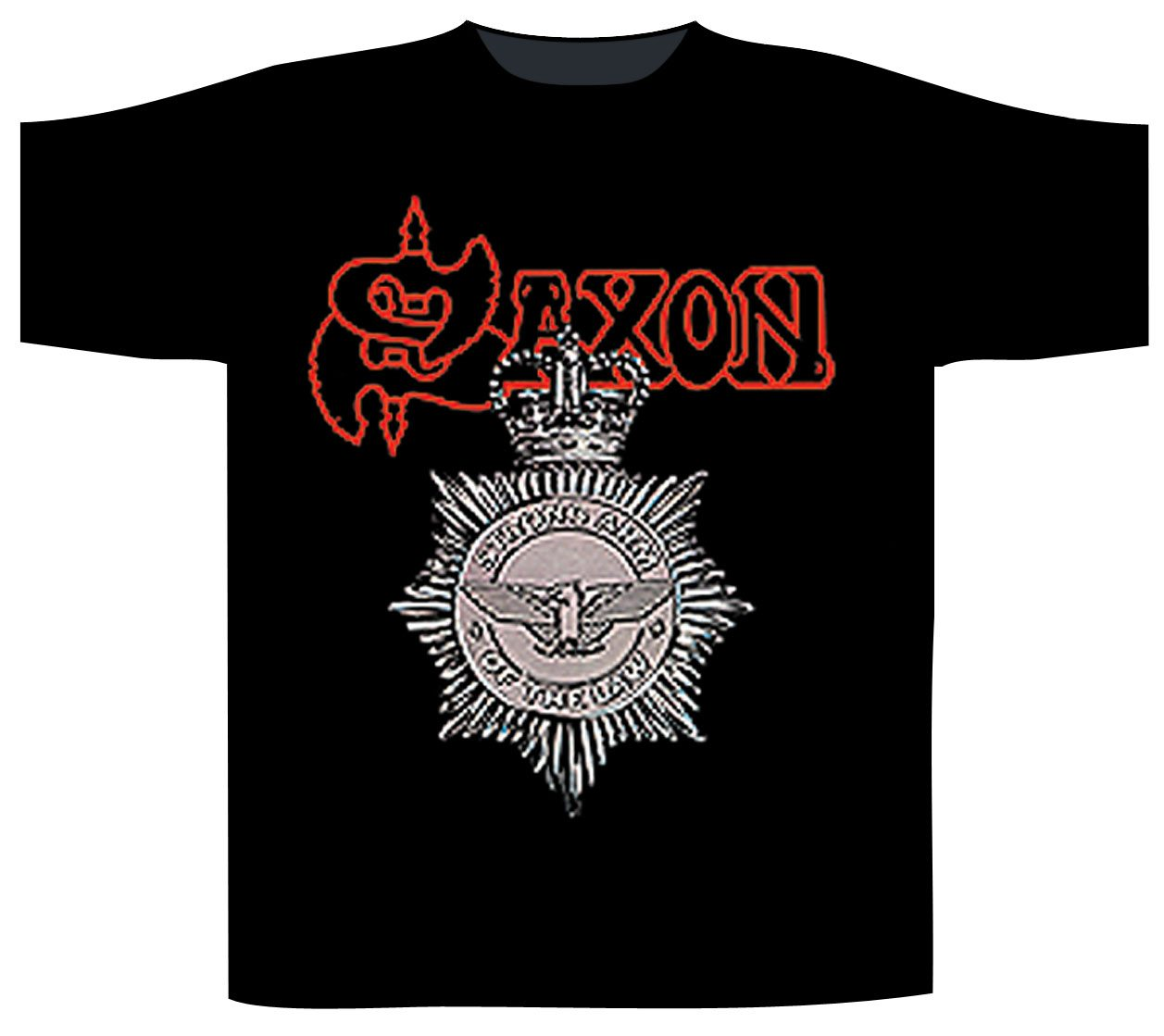 Saxon Shortsleeve T-Shirt Strong Arm Of The Law
