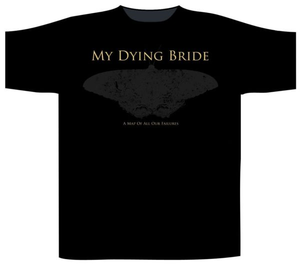 My Dying Bride Shortsleeve T-Shirt There Are Wolves Here