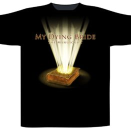 My Dying Bride Shortsleeve T-Shirt Manuscript