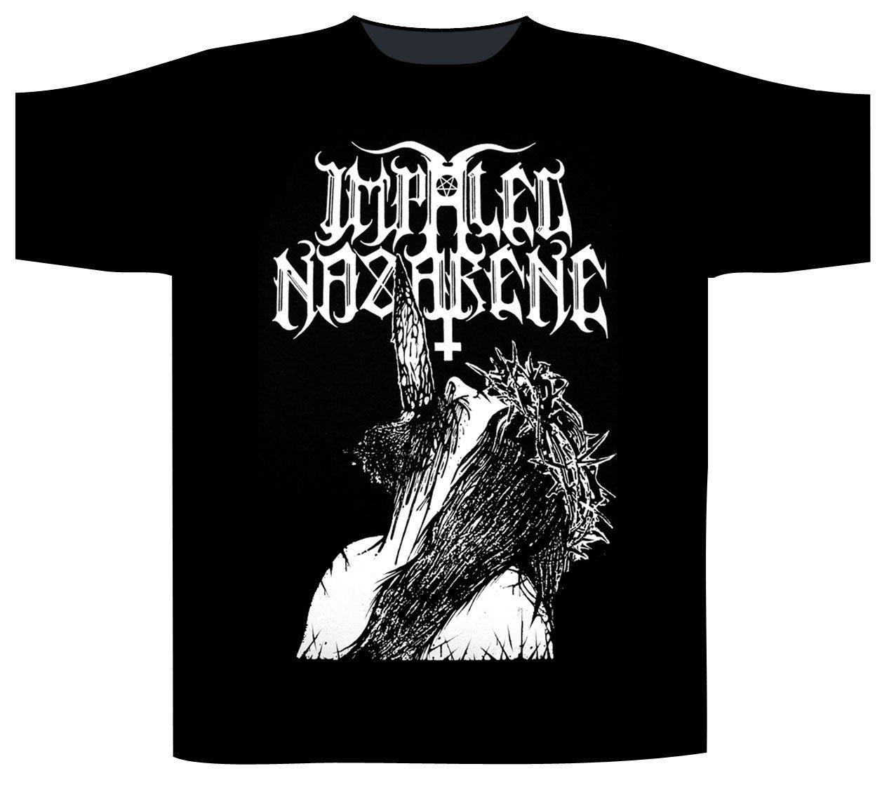 Impaled Nazarene Shortsleeve T-Shirt Fuck God And Fuck You