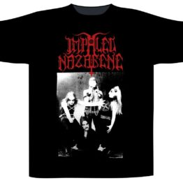 Impaled Nazarene Shortsleeve T-Shirt Christ Is The Crucified Whore
