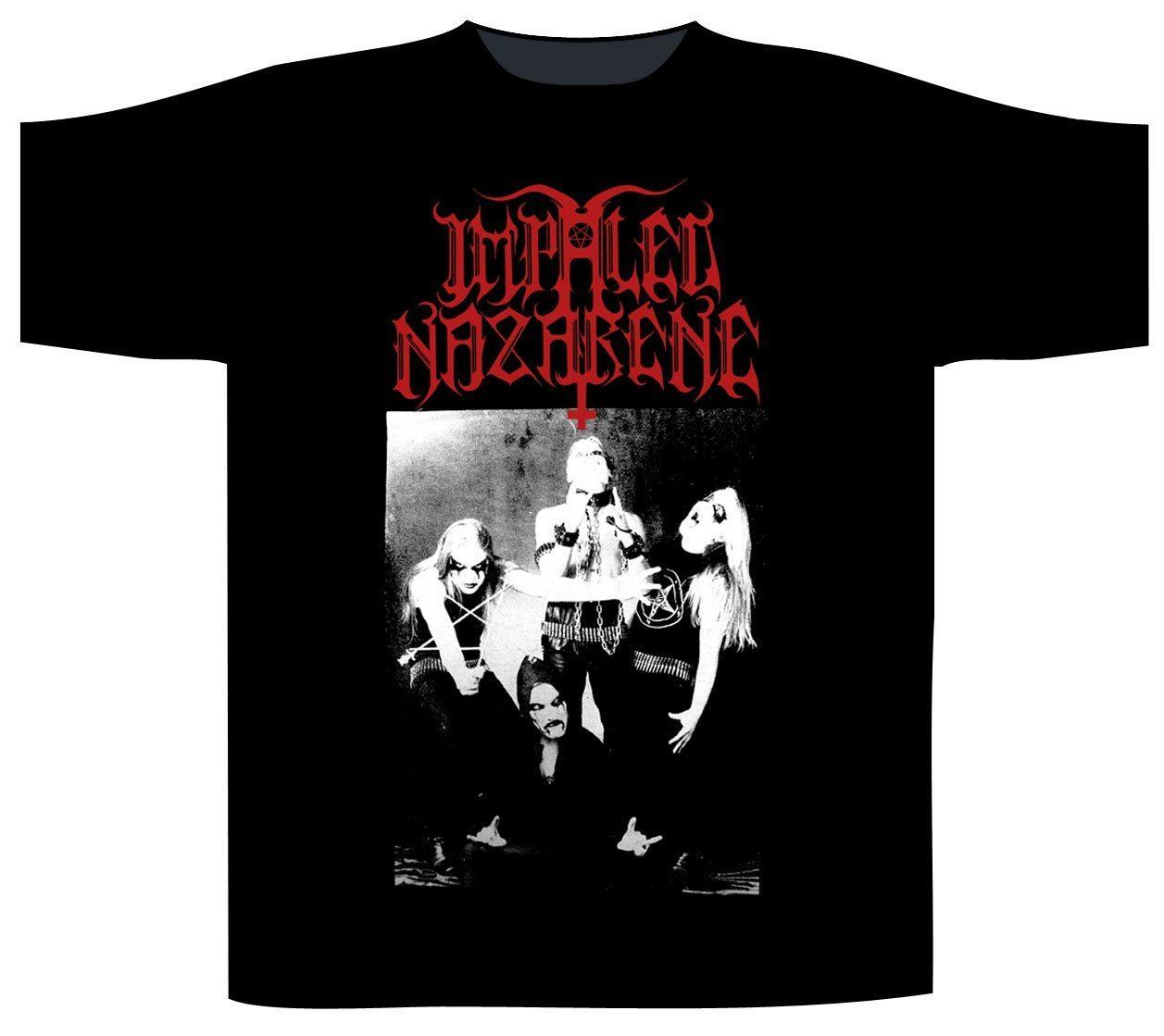 Impaled Nazarene Shortsleeve T-Shirt Christ Is The Crucified Whore