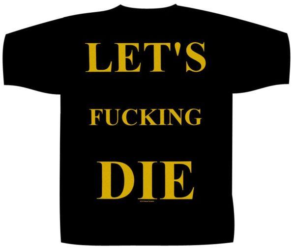 Impaled Nazarene Shortsleeve T-Shirt Let's Fucking Die