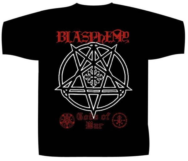 Blasphemy Shortsleeve T-Shirt Gods Of War