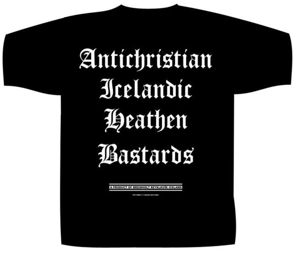 Soflstafir T-Shirt Icelandic Heathen Bastards