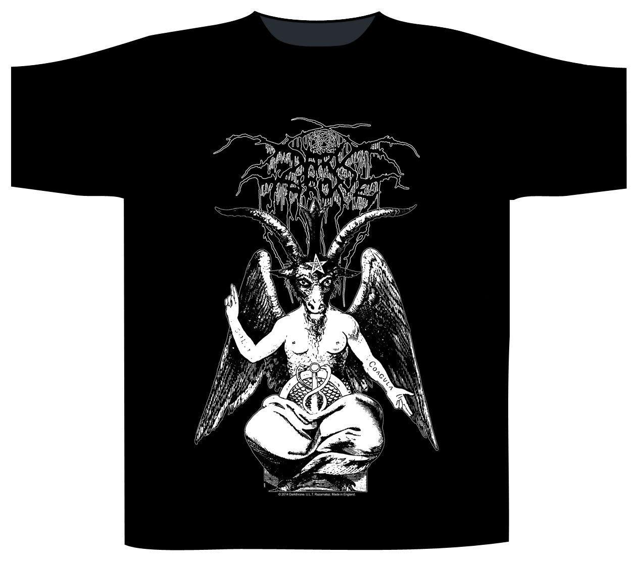 Dark Throne T-Shirt Black Death Beyond Baphomet