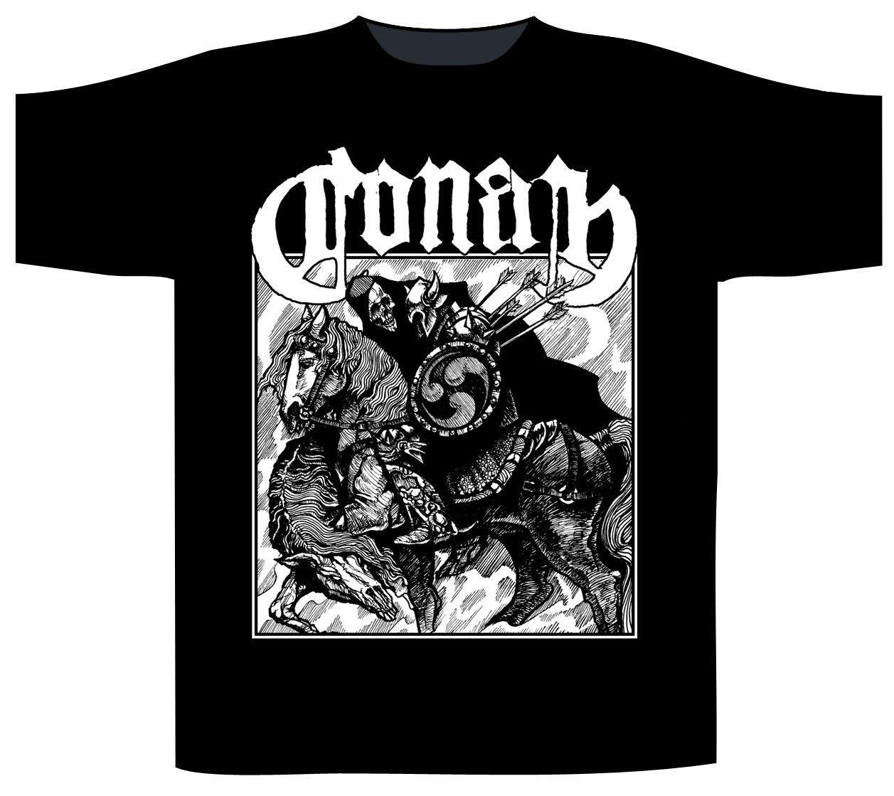 Conan T-Shirt Horseback Battle Hammer
