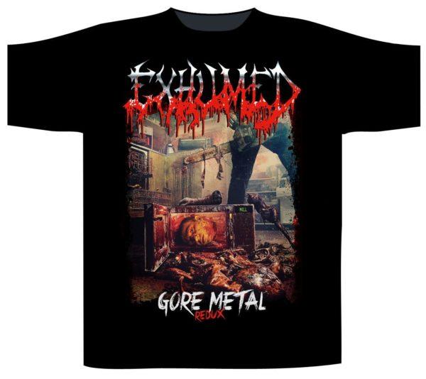 Exhumed T-Shirt Gore Metal Redux