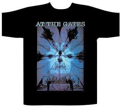 At The Gates Shortsleeve T-Shirt BurNine Inch Nailsg Darkness