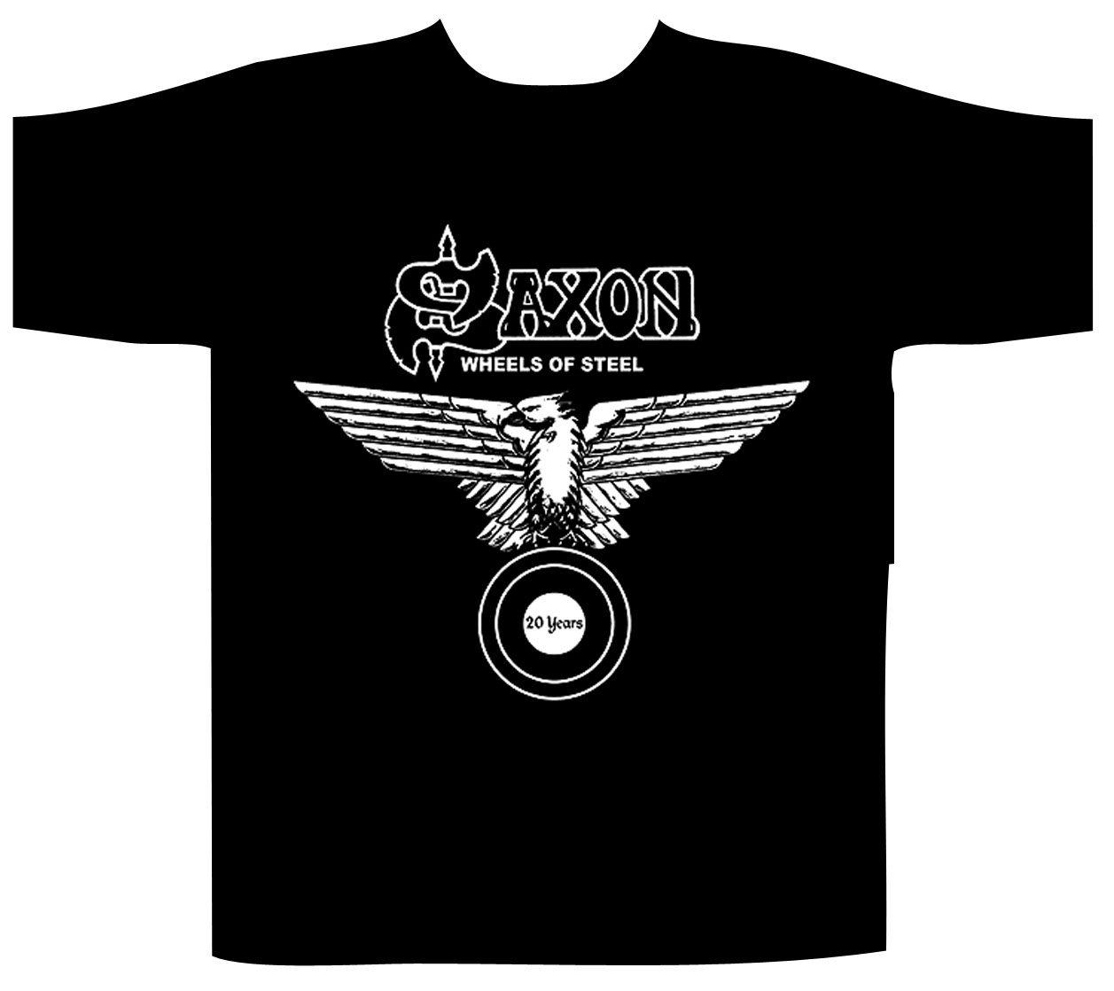 Saxon Shortsleeve T-Shirt Wheels Of Steel / Celtic