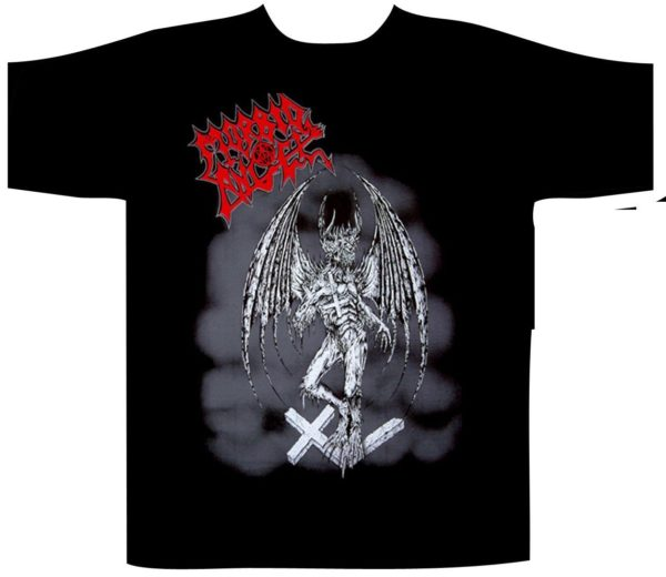 Morbid Angel Shortsleeve T-Shirt Gargoyle