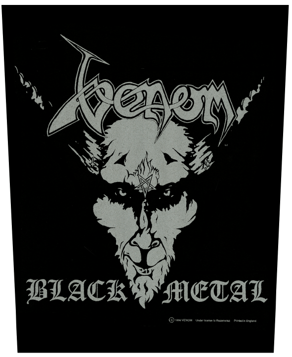 Venom Backpatch Black Metal