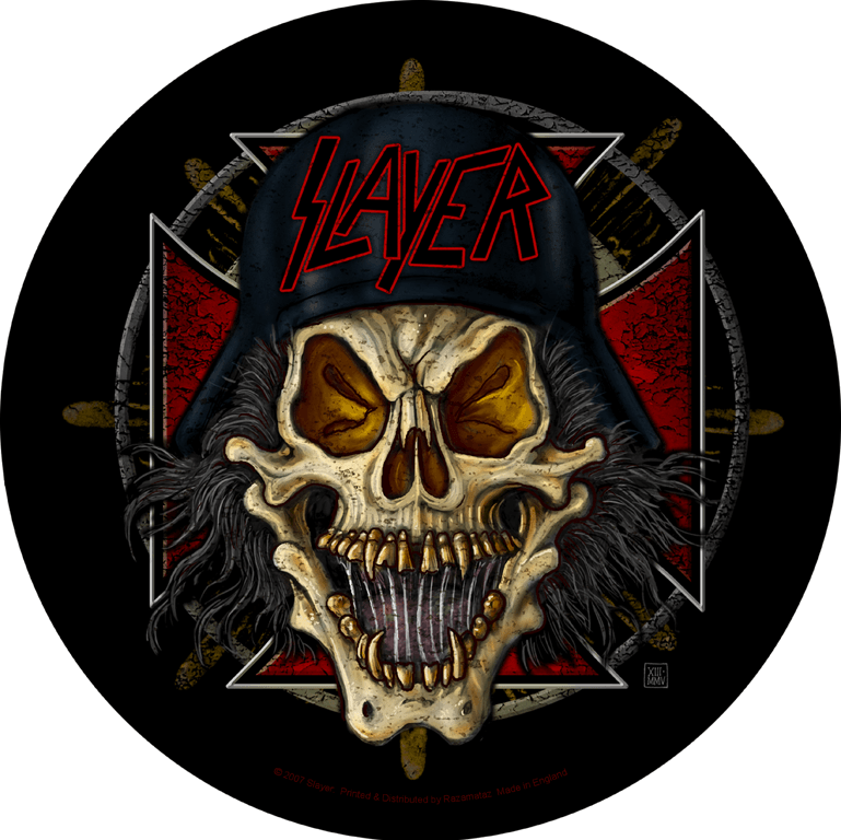 Slayer Backpatch Wehrmacht Circular
