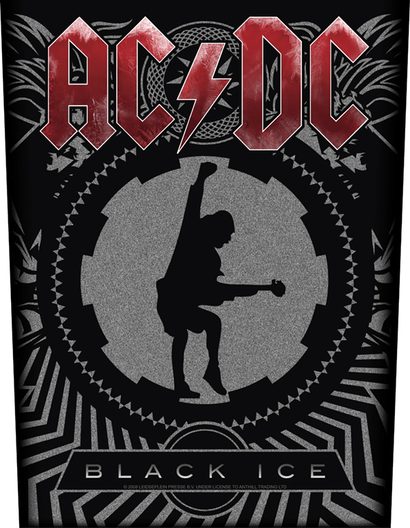 AC/DC Backpatch Black Ice