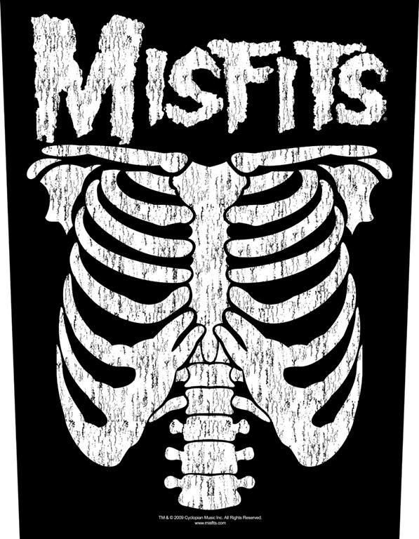 Mistfits Backpatch Ribcage