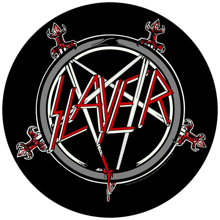 Slayer Backpatch Pentagram