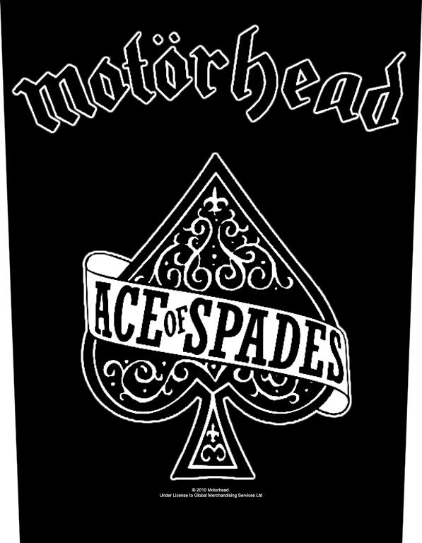 Motorhead Backpatch Ace of Spades