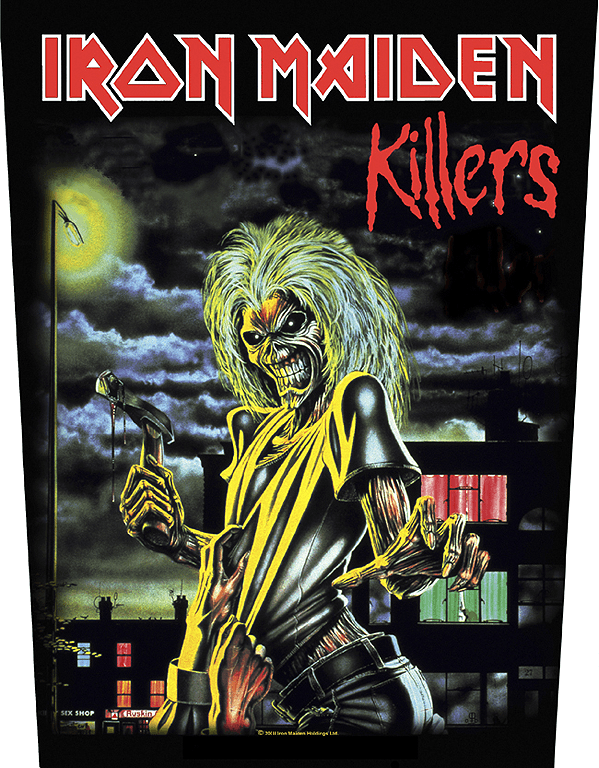 Iron Maiden Backpatch Killers