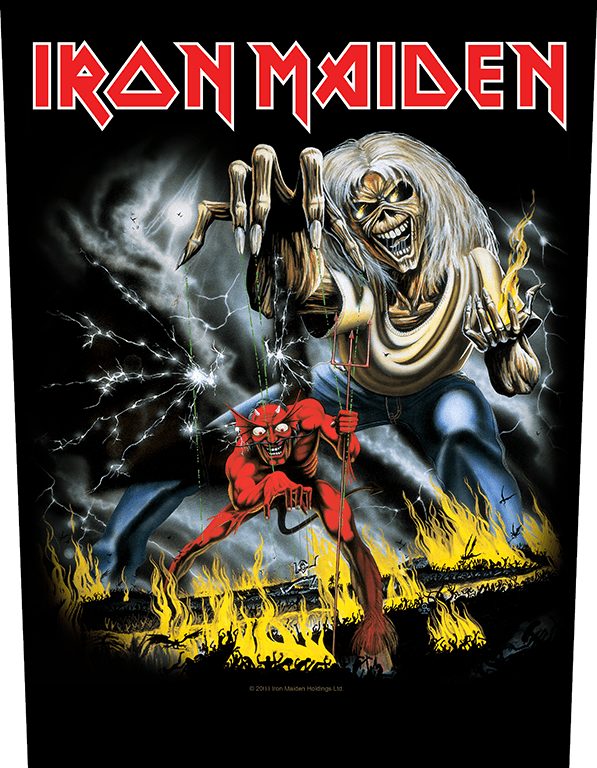 Iron Maiden Backpatch Number of the Beast